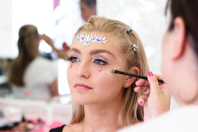 festival makeup academy demos