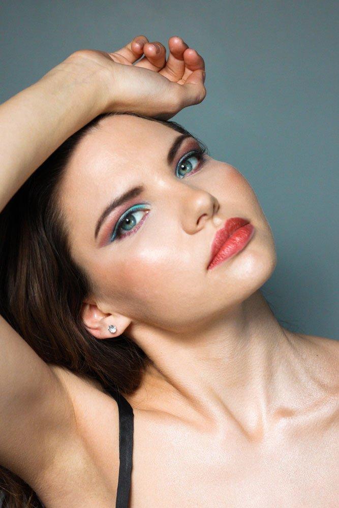 student makeup photoshoot masterclass