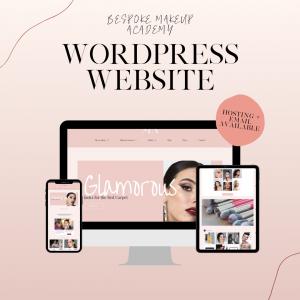 makeup website designer