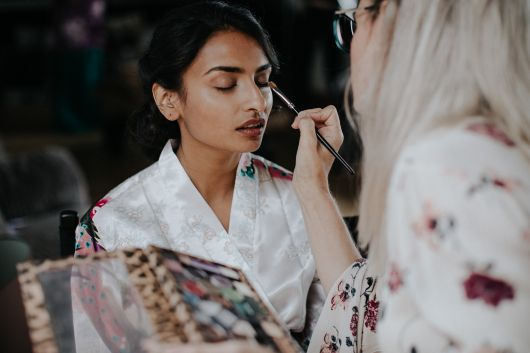 booking a makeup artist for your wedding day